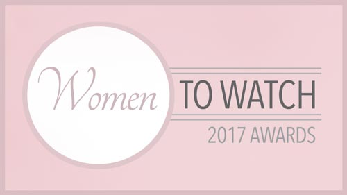 Lisa Blackmore. Women to Watch 2017
