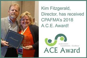 Kim Fitzgerald, Director, has received the 2018 A.C.E. Award from the CPA Firm Management Association.