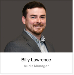 Billy Lawrence - Audit Manager